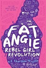 Book cover of FAT ANGIE - REBEL GIRL REVOLUTION