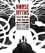 Book cover of NORSE MYTHS-TALES OF ODIN THOR & LOKI