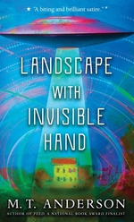 Book cover of LANDSCAPE WITH INVISIBLE HAND