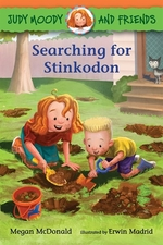 Book cover of JUDY MOODY & FRIENDS SEARCHING FOR ST