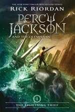 Book cover of PERCY JACKSON 01 LIGHTNING THIEF