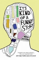 Book cover of IT'S KIND OF A FUNNY STORY