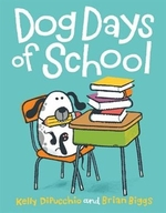 Book cover of DOG DAYS OF SCHOOL