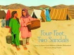 Book cover of 4 FEET 2 SANDALS