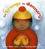 Book cover of ORANGE IN JANUARY
