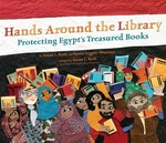 Book cover of HANDS AROUND THE LIBRARY - PROTECTING EG