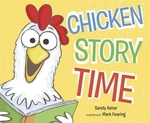 Book cover of CHICKEN STORY TIME
