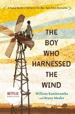 Book cover of BOY WHO HARNESSED THE WIND