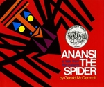 Book cover of ANANSI THE SPIDER