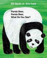 Book cover of PANDA BEAR PANDA BEAR WHAT DO YOU SEE
