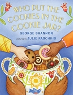 Book cover of WHO PUT THE COOKIES IN THE COOKIE JAR
