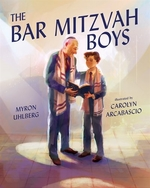 Book cover of BAR MITZVAH BOYS