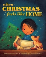 Book cover of WHEN CHRISTMAS FEELS LIKE HOME