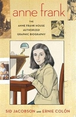 Book cover of ANNE FRANK - GRAPHIC BIO