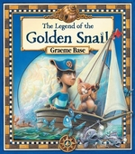 Book cover of LEGEND OF THE GOLDEN SNAIL