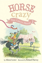 Book cover of HORSE CRAZY 02 THE CIRCUS HORSE