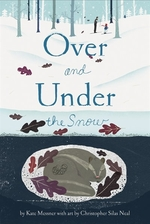 Book cover of OVER & UNDER THE SNOW