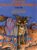 Book cover of COYOTE STEALS THE BLANKET