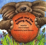 Book cover of ANANSI & THE TALKING MELON