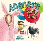 Book cover of ANANSI'S PARTY TIME