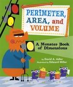 Book cover of PERIMETER AREA & VOL