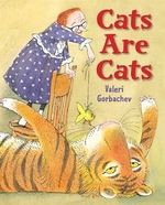 Book cover of CATS ARE CATS