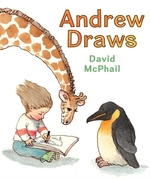Book cover of ANDREW DRAWS
