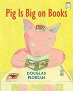Book cover of PIG IS BIG ON BOOKS