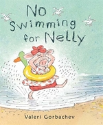 Book cover of NO SWIMMING FOR NELLY