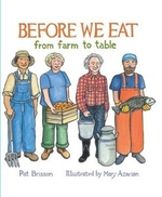 Book cover of BEFORE WE EAT FROM FARM TO TABLE