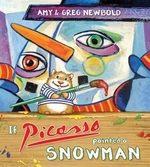 Book cover of IF PICASSO PAINTED A SNOWMAN