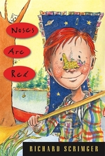 Book cover of NOSES ARE RED