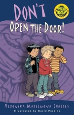 Book cover of DON'T OPEN THE DOOR