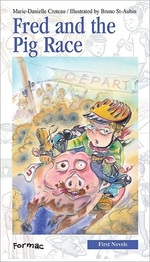Book cover of FRED & THE PIG RACE