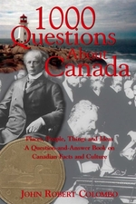 Book cover of 1000 QUESTIONS ABOUT CANADA