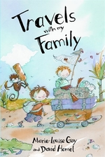 Book cover of TRAVELS WITH MY FAMILY