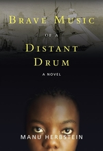 Book cover of BRAVE MUSIC OF A DISTANT DRUM