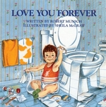 Book cover of LOVE YOU FOREVER