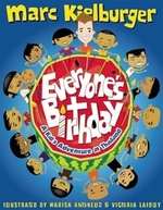 Book cover of EVERYONE'S BIRTHDAY