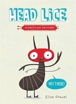 Book cover of HEAD LICE - DISGUSTING CRITTERS