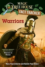 Book cover of MAGIC TREE HOUSE FACT TRACKER 40 WARRIOR