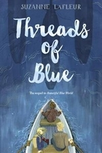 Book cover of THREADS OF BLUE