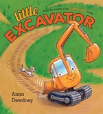 Book cover of LITTLE EXCAVATOR