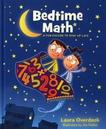 Book cover of BEDTIME MATH A FUN EXCUSE TO STAY UP LAT