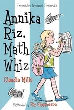 Book cover of ANNIKA RIZ MATH WIZ