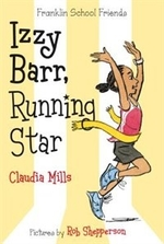 Book cover of IZZY BARR RUNNING STAR