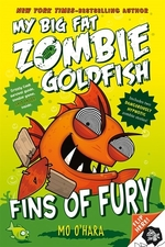 Book cover of MY BIG FAT ZOMBIE GOLDFISH 03 FINS OF FU
