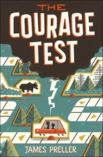 Book cover of COURAGE TEST