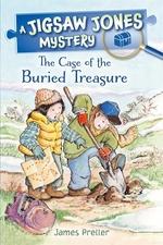 Book cover of JIGSAW JONES - BURIED TREASURE