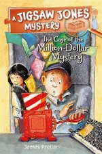 Book cover of JIGSAW JONES - MILLION DOLLAR MYSTERY